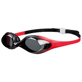 arena Spider Goggles Juniors red-smoke-black